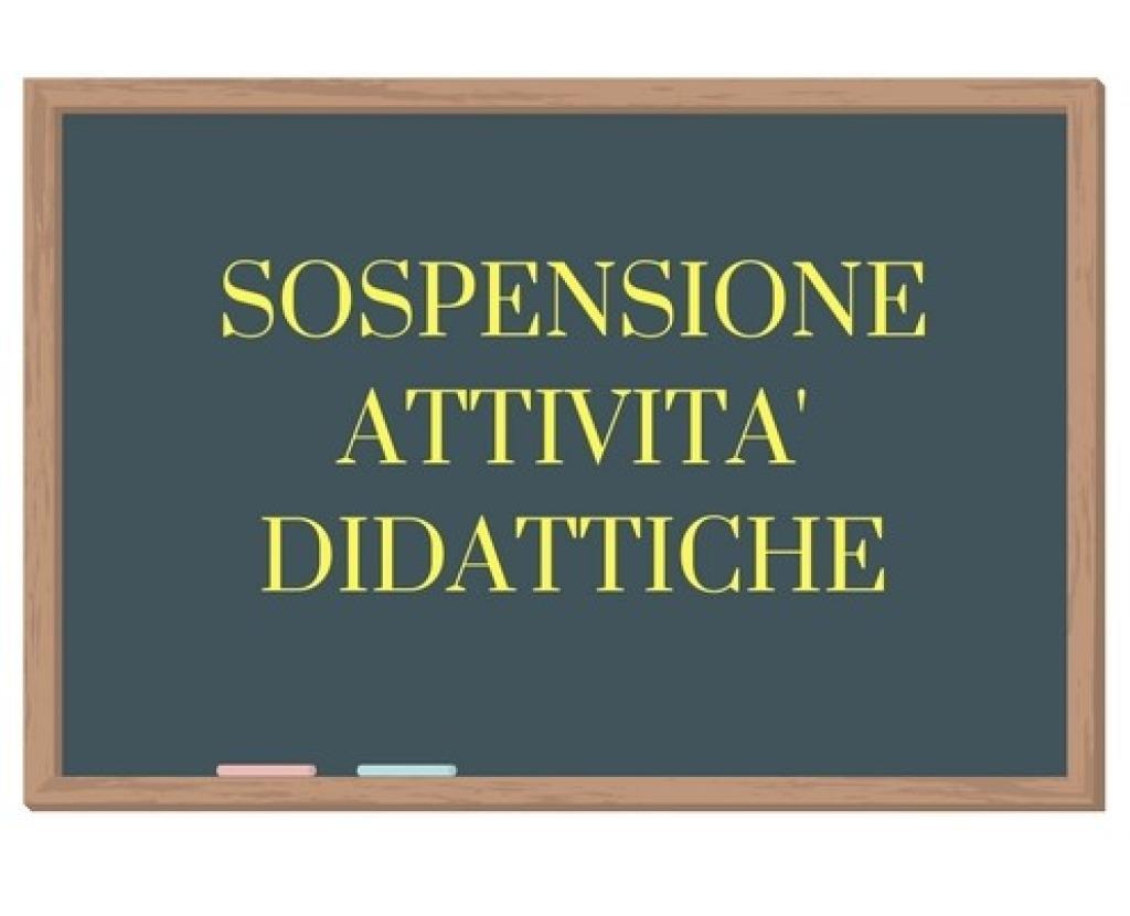 SOSPENSIONE DELLE ATTIVITA' DIDATTICHE DAL 5 MARZO 2020 AL 14 GIUGNO 2020
